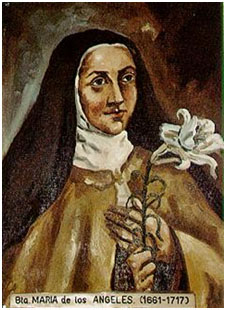 Bl. Mary of the Angels (1661-1717)